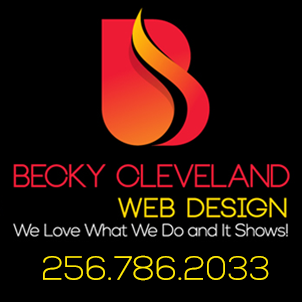becky cleveland web deisgn ad