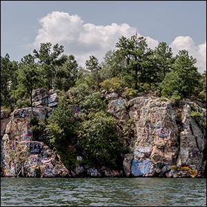 chimney rock lake martin al