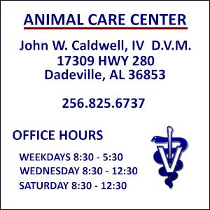 dr caldwell dvm dadeville al