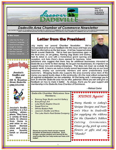 july 2018 newsletter cover