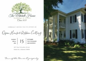Grand Opening/Open House and Ribbon Cutting @ The Mitchell House