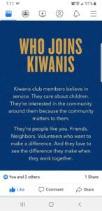 Dadeville Kiwanis meeting @ First United Presbyterian Church