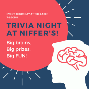 Trivia Night at Niffer's @ Niffer's Place at Lake Martin
