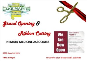 Grand Opening/Ribbon Cutting @ Primary Medicine Associates