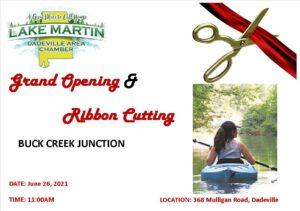 Grand Opening/Ribbon Cutting @ Buck Creek Junction