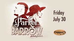 Live Music - Parker Barrow Project @ Copper's Grill at Stillwaters