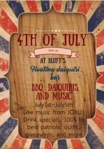 Bluff's Daiquiri Bar Music