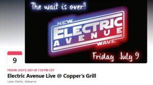 Copper's Grill Music