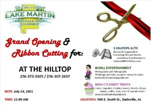 Grand Opening & Ribbon Cutting for AT THE HILLTOP @ AT THE HILLTOP