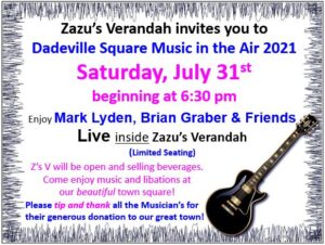 Live Music - Mark Lyden, Brian Graber & Friends @ Zazu's Verandah