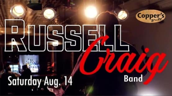Live Music - Russell Craig Band @ Copper's Grill at Stillwaters