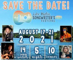 The Lake Martin Songwriters Festival @ Zazu's Verandah