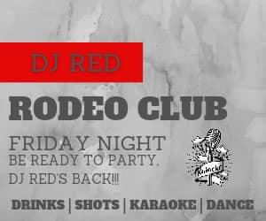 Live Music - DJ Red w/Karaoke & Dance Music @ the Rodeo Club