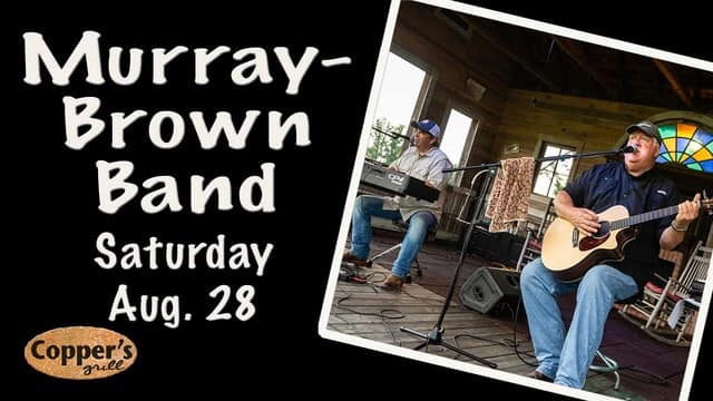 Live Music - Murray Brown Band @ Copper's Grill at Stillwaters