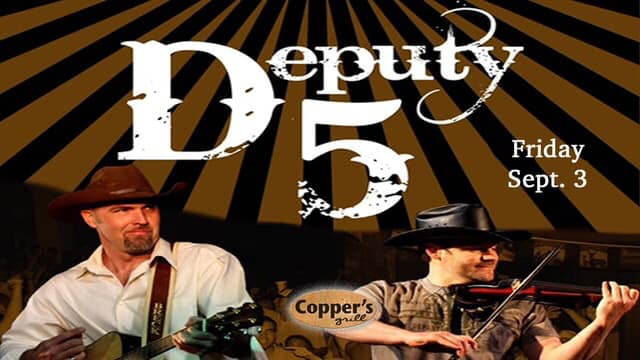 Live Music - Deputy 5 @ Copper's Grill at Stillwaters